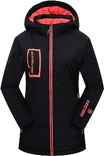 Women's Waterproof Ski Jacket Warm Windproof Hooded Snowboard Jacket