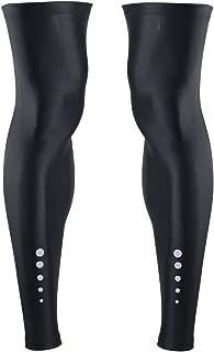Cuzaekii Men Women Compression Cycling Leg Warmers MTB Bike Bicycle Leggings Running Basketball Soccor Legwarmers Sports Tights