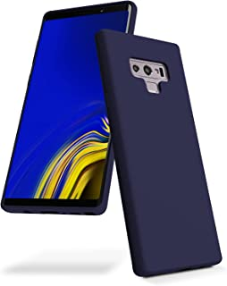 Goospery Liquid Silicone Case for Samsung Galaxy Note 9 (2018) Jelly Rubber Bumper Case with Soft Microfiber Lining (Navy)...