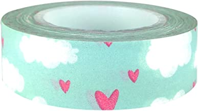 Allydrew 64738 Hearts & Sweets Japanese Masking Hearts & Clouds Washi Tape