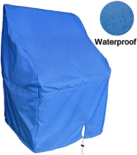 TeBaisea Boat Center Console Cover - Heavy Duty 600D Waterproof Rainproof Upgraded Marine Grade Oxford Fabric Pontoon Boat Console Cover