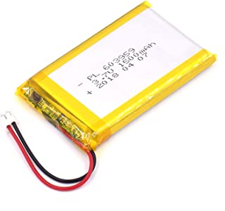 YDL 3.7V 1500mAh 603959 Lipo battery Rechargeable Lithium Polymer ion Battery Pack with JST Connector