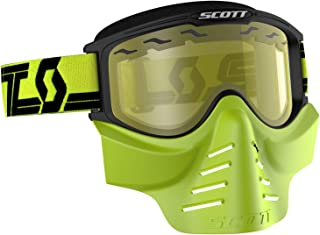 Scott USA 83X Safari Facemask Black/Yellow/Yellow Lens (Yellow, OSFM)