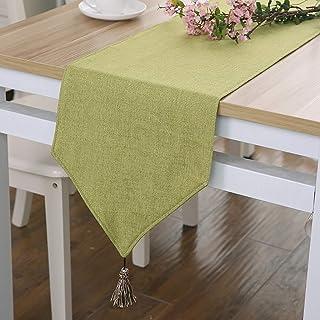 Chemins de Table Vintage Lin Naturel Table Runner Gris Rustic Wedding Party Home Décor Gris Naturel Imité Linge De Table f...