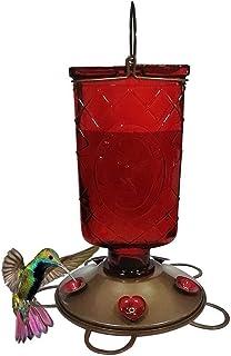 ZHANGXIAOYU Fuente de Agua alimentador del pájaro 600 ml Jardín del colibrí Bird Mano alimentador alimentación alimentador...