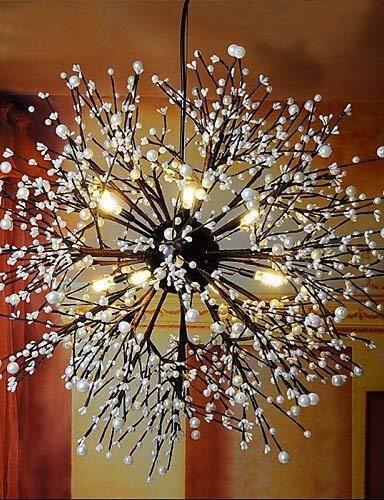 CHENJUNAMZ Industrial Viento Colgante de la Estrella Decorativa Ropa Café Bar Club LED Fuegos Artificiales la Chispa de luz Blanco cálido