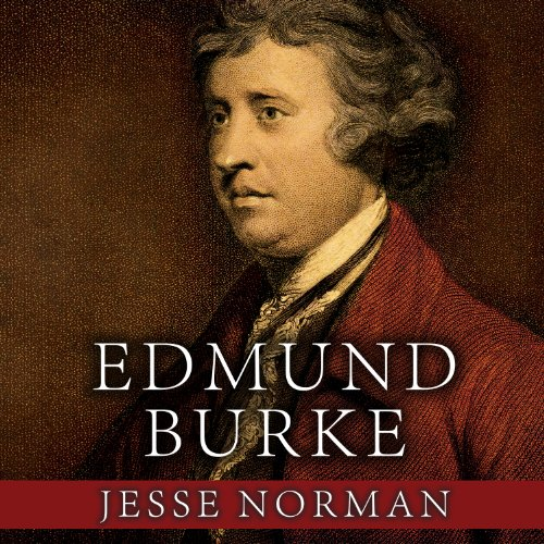 Edmund Burke audiobook cover art