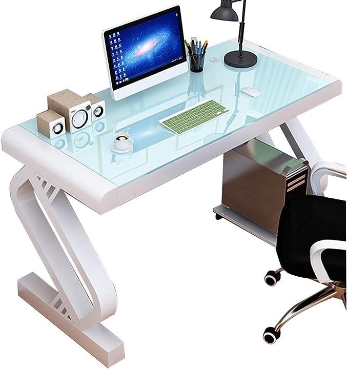 Scrivania pc scrivania in vetro temperato per sala studio - zycsktl B08GYLJQG9