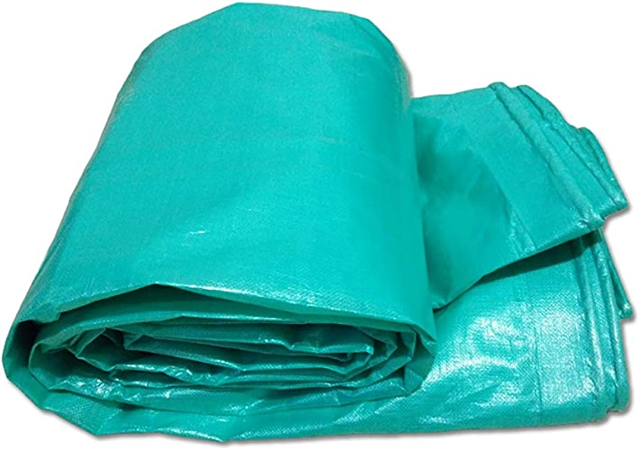 Sisizhang Bache avec Oeillets, Feuille de bache épaisse imperméable, bache de remorque pour Tente, Tente de Sol, 180G   M2