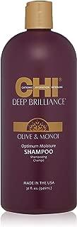 CHI Deep Brilliance Olive & Monoi Optimum Moisture Shampoo 32 oz