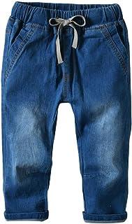 HOSD2018 Ropa para niños Primavera niños Jeans Pantalones Pantalones elásticos para niños Pantalones para niños niños pequ...