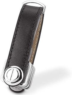 Rag & Sak Smart Key Organizer, Compact Key Holder Leather Keychain, Folding Pocket Key Holder Chain
