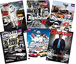 Top Gear : The Complete Seasons 11, 12, 13, The Worst Car in the History of the World, 50 Years Bonds Car + CLARKSON:HEAVEN AND HELL