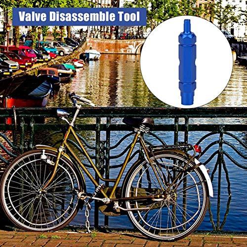 SALUTUYA Herramienta de desmontaje de válvula de neumático Herramienta de desmontaje de válvula práctica Accesorios de Ciclismo para Schrader