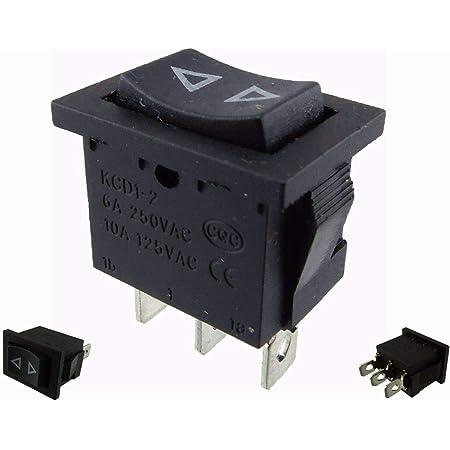 Wipptaster Taster On Off On Einbau 19 5 X12 5mm Taster Rastet Nicht Momentary 1 Baumarkt