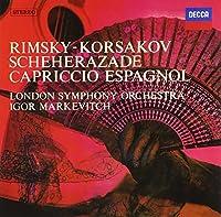 R.コルサコフ:交響組曲《シェエラザード》、スペイン奇想曲
