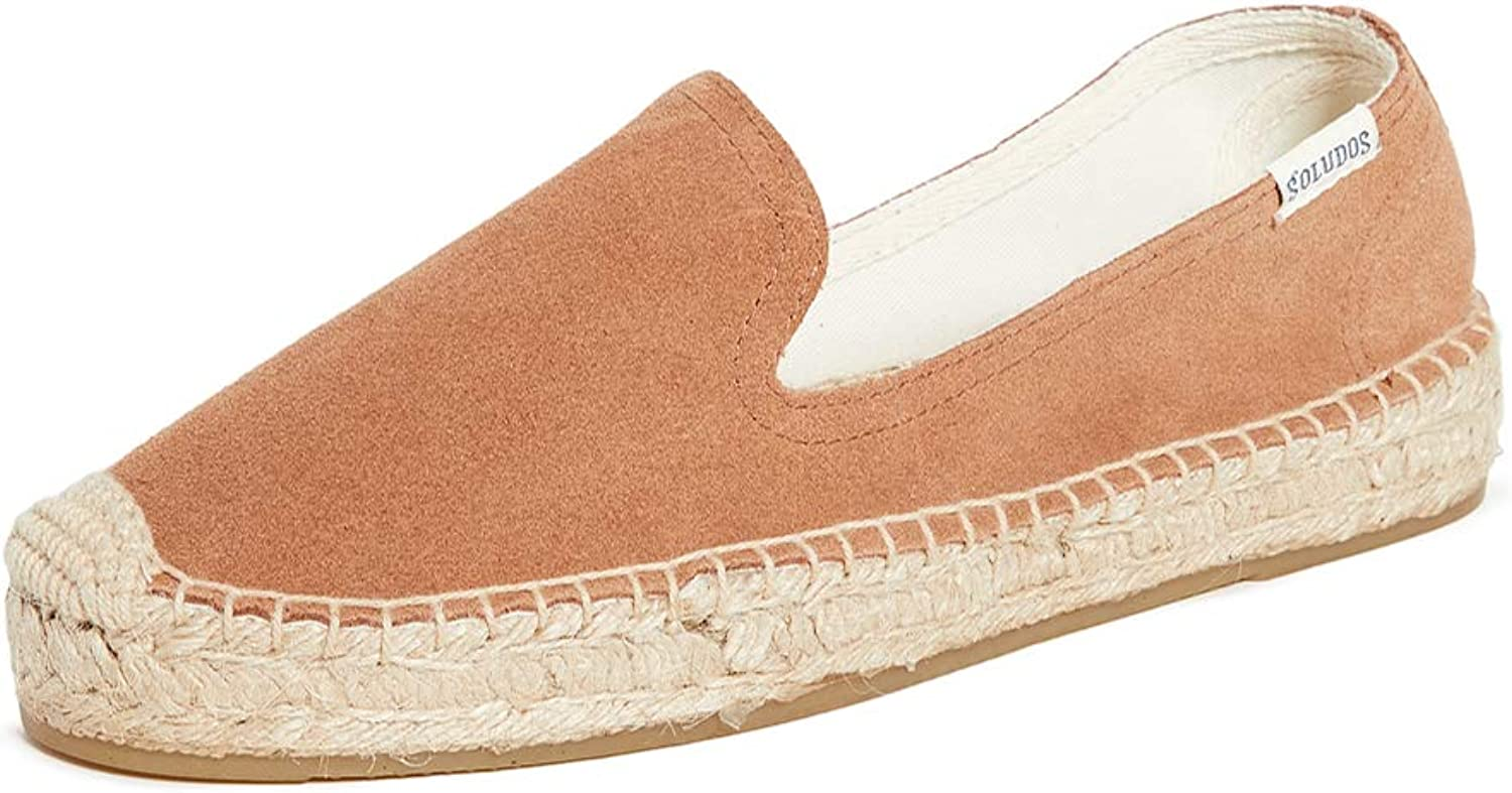 Soludos Women's Suede Limited Special Price Smoking Slippers New arrival Platform