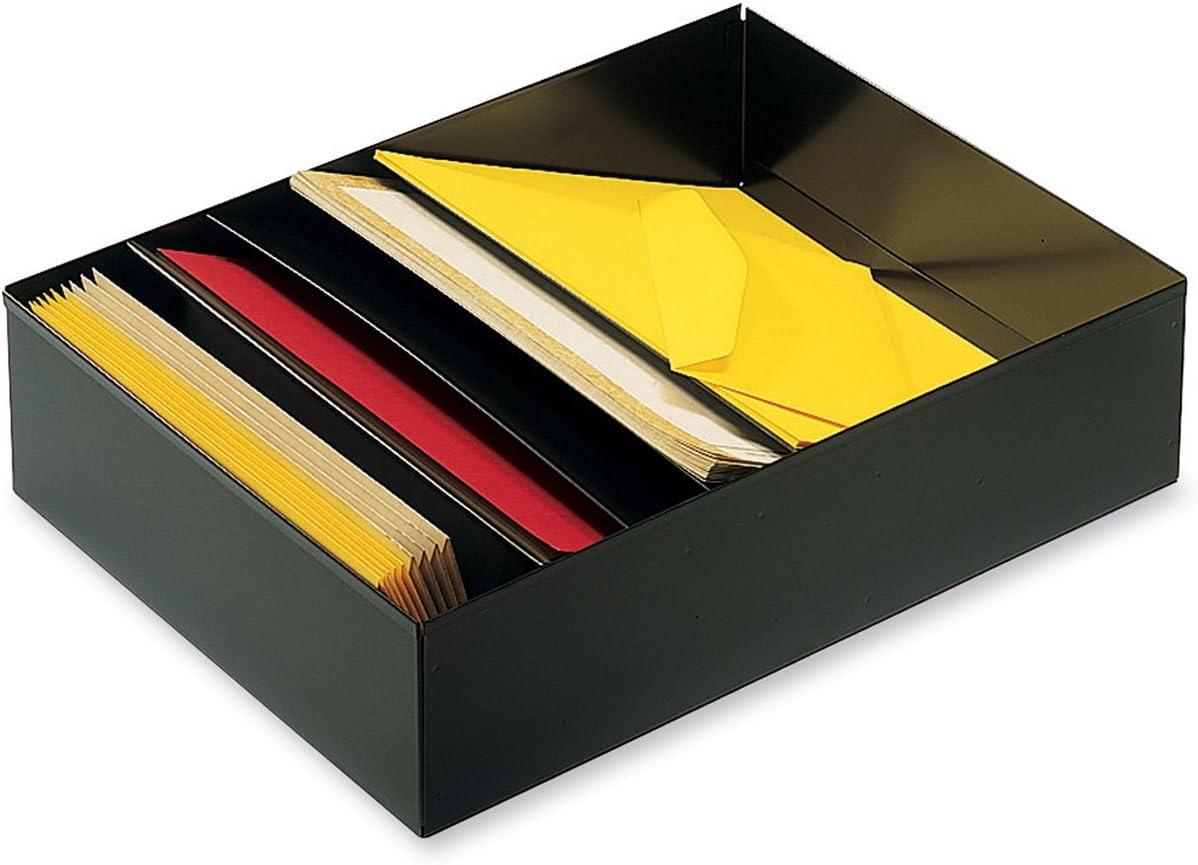 STEELMASTER 5-Compartment Desk Drawer Holder 11.4