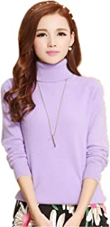 Women's Knit Sweater Large Size Slim New Pullovers Sweater New Cashmere Turtleneck Autumn/Winter Female Sweater
