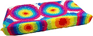 One Grace Place 10-34035 Terrific Tie Dye - Changing Pad Cover, Multi-Color