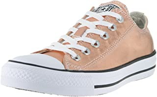 c547dda533c9f Converse Unisex Chuck Taylor All Star Ox Low Top Classic Metallic Sunset  Glow/White Sneakers