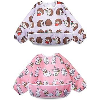 infantil La imagen es solo este producto tiene todo lo con forma de babero con mangas para beb/é esta much I love my Mummy