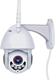 WiFi IP Security Camera -PTZ 1080P Home Surveillance Cameras,Security WiFi Outdoor Camera,Pan/Tilt/Zoom Camera with Night ...