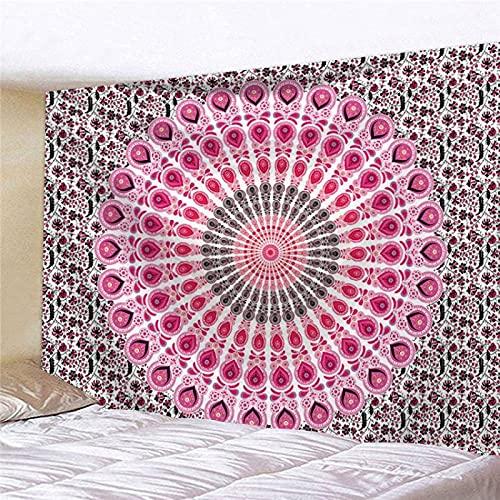 YDyun Tapiz para Colgar en la Pared, decoración del hogar Colgante de Pared con patrón de combinación