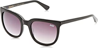 Superdry Wayfarer Unisex Sunglasses - SDPHOENIX104-55-22-140mm Glossy Black