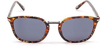 Persol - Gafas de sol de acetato marrón Po3186s1081r5 para hombre
