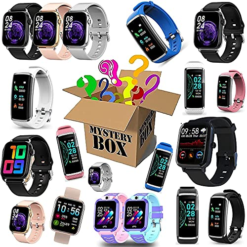 GDICONIC Scatola cieca Mystery Box Electronics,Mystery Boxes Random,Birthday Surprise Box,Lucky Box for Adults Surprise Gift,Such As Drones,Smart Watches,Gamepads And More,Best Gift for Holidays