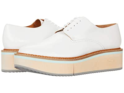 Clergerie Brookw (White Nappa) Women