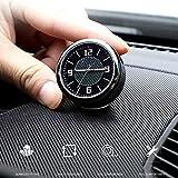 HEZHOUJI Reloj de Coche Reloj de Cuarzo Reloj de decoración de Coche para Audi para BMW para Mercedes-Benz AMG para Jaguar para Lexus Ford Honda, para Mercedes, Benz