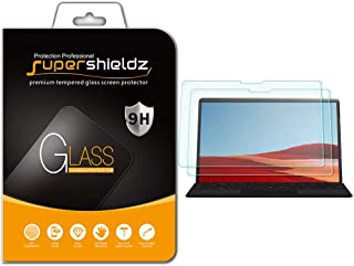 (2 Pack) Supershieldz for Microsoft Surface Pro X (13 inch) Screen Protector, (Tempered Glass) Anti Scratch, Bubble Free