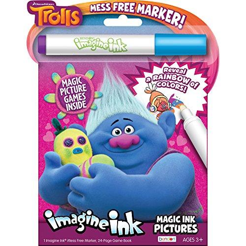 Bendon 68707 Trolls Imagine Ink Magic Ink Pictures