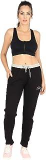 Polo Nation Women's Track Pant Black 2inch (Medium)
