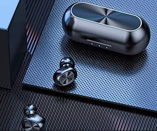 Audífonos inalámbricos | Audífonos Bluetooth 5.0 | Auriculares inalámbricos | Stereo 8D | Compatibles con asistentes de voz de IOS y Android | Resistentes al sudor | Duración de batería de 5 Horas |