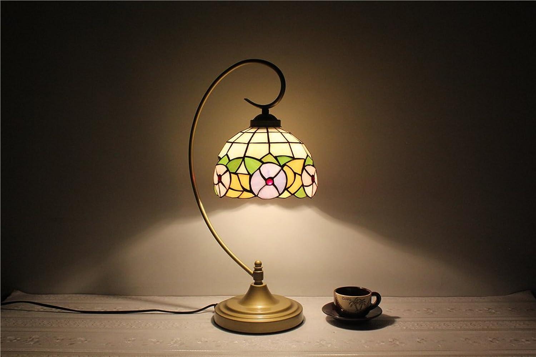 MEHE HOME-8 Zoll von warmen pastoralen kreative minimalistischen Wohnzimmer Esszimmer den Schlafzimmer Nachttischlampe B01FVP7JQ6     | Großer Verkauf