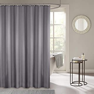 Waterproof Polyester Fabric Shower Curtain, Bathroom Decor Curtain with Hooks 72 by 72 Inch Hotel Quality Machine Washable...