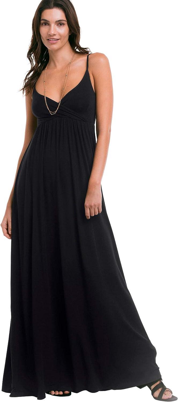 ellos Women's Plus Size Online limited product Surplice Maxi Max 87% OFF Knit Dress