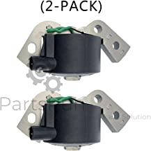 PARTSRUN 2PCS Ignition Coil Module Fits OMC Johnson Evinrude Outboard 582995 584477 580416,18-5181,ZF-IG-A00298V