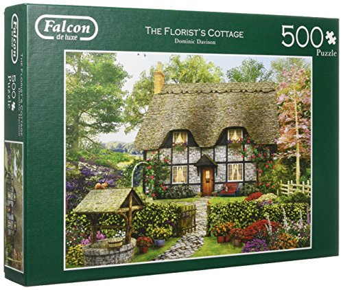 Jumbo 11210 Puzzel Falcon: The Florist's Cottage 500 Stukjes