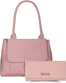 Fristo Womens Combo Handbag and Clutch