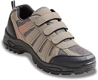 Mens Wide Fit Lace Walking Shoe Color