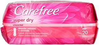 Carefree Super Dry Panty Liners - 20 Piece