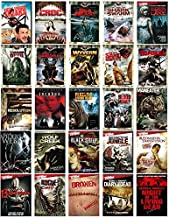 Ultimate Horror 25 Movie DVD Collection - Gore & More: Night of the Living Dead/Diary of the Dead/Maneater/Eight Legged Freaks/Incubus/Wolf Creek/Black Sheep/Blood Monkey/Resolution/Rogue/Broken + Mor