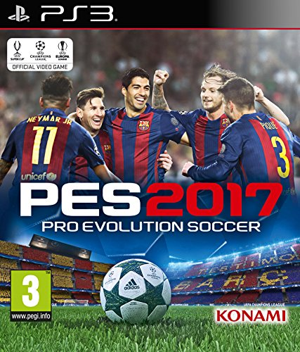 Digital Bros Pro Evolution Soccer 2017 PS3  video games PS3 PlayStation 3 Sports PES Productions E Everyone ITA Basic