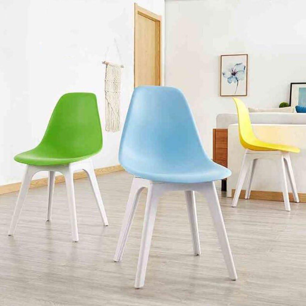 AJZGFChaise de salle à manger, chaise de cuisine Chaise minimaliste moderne, chaise d'ordinateur, chaise de bureau de mode décontractée, tabouret à la maison. (Color : B) C