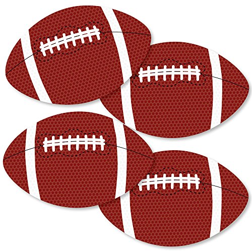 End Zone - Football - Decorations DIY Baby Shower or Birthday Party Essentials - Set of 20