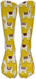 Llamas Athletic Tube Medias Mujeres 'S Men' S Classics Calcetines hasta la rodilla Sport Long Sock One Size SOCKS-0631